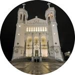 L'équipe du rectorat de la basilique de Fourvière