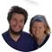 Inès et Étienne Vermersch Auteurs de À toi qui as changé ma vie (2018, éditions Artège) suite à un tour du monde sur les pas de Mère Teresa