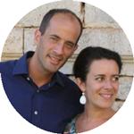 Inès Rouy En mission à l'hôtellerie du sanctuaire de Verdelais avec son mari Bruno