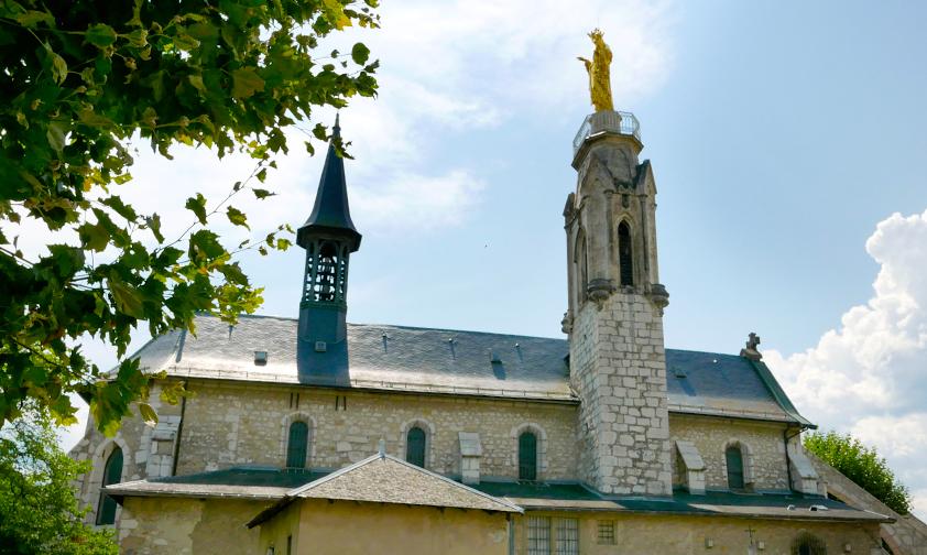 Notre-Dame de Myans, refuge protecteur