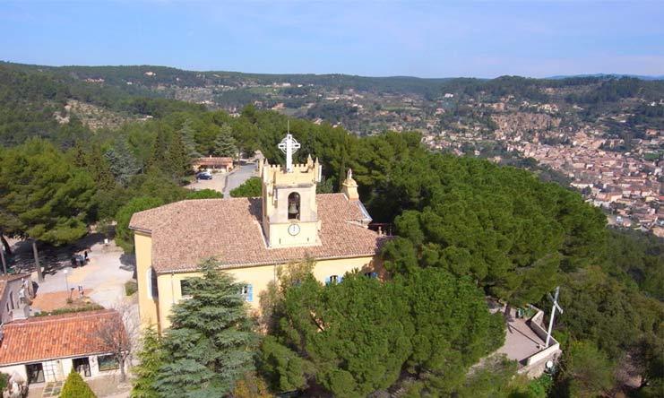 Les apparitions de Notre Dame de Grâces à Cotignac