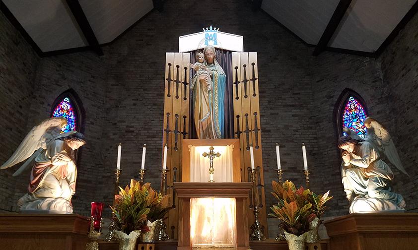 Notre-Dame du Bon Secours : unique site marial officiel des États-Unis