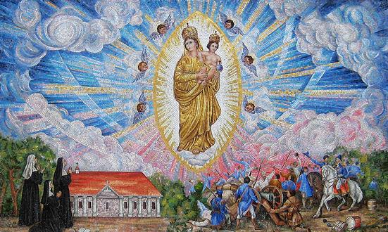 Notre Dame de Prompt Secours, patronne principale de Louisiane