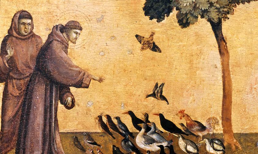 Saint François d'Assise, le Poverello ami de toute la Création