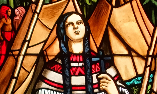 Sainte Kateri Tekakwitha, le « Lys des Agniers »