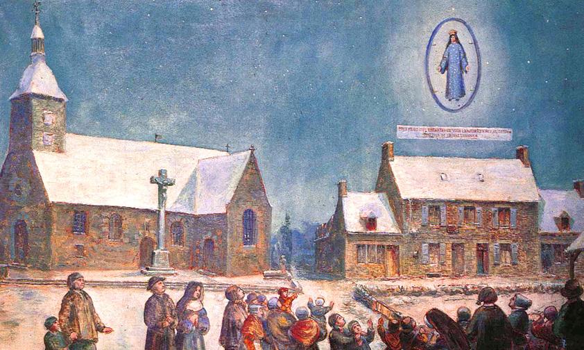 À Pontmain, la Vierge Marie fait prier des enfants en pleine guerre franco-prussienne