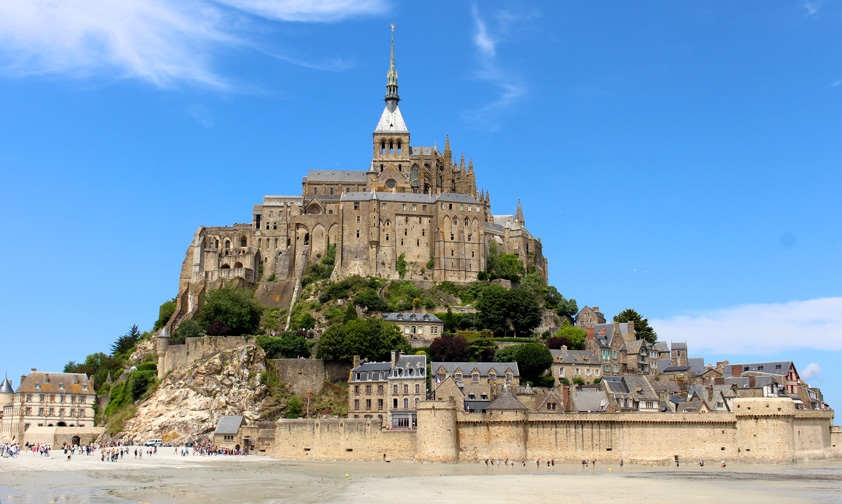 Le Mont-Saint-Michel, signe de Dieu pour les hommes