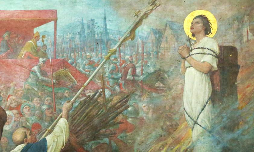Le procès de Jeanne d'Arc révèle le cadre naturel de la vocation surnaturelle de la jeune fille