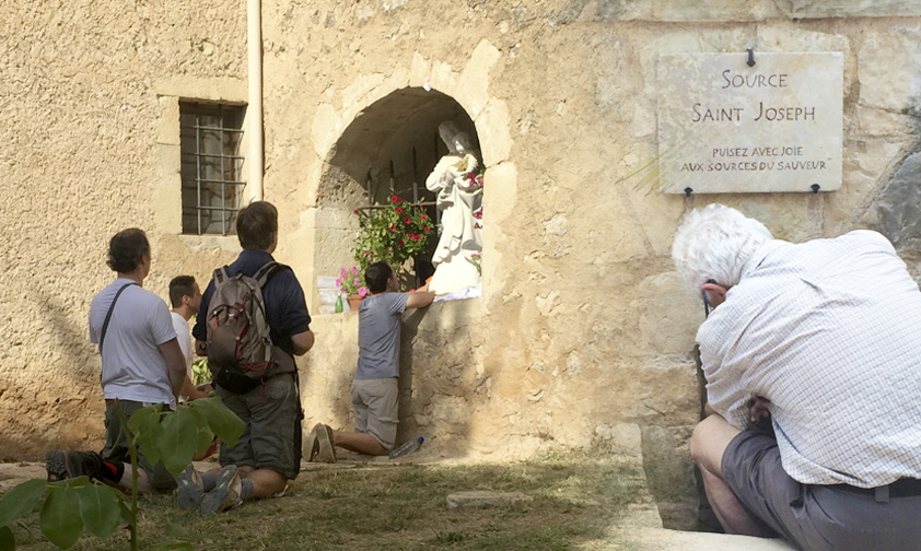 Les apparitions de saint Joseph à Cotignac