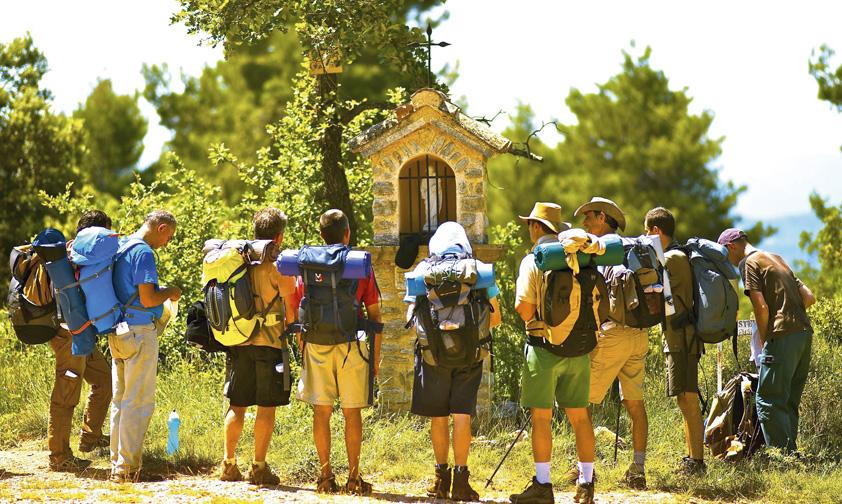 La naissance du pèlerinage des pères de famille à Cotignac