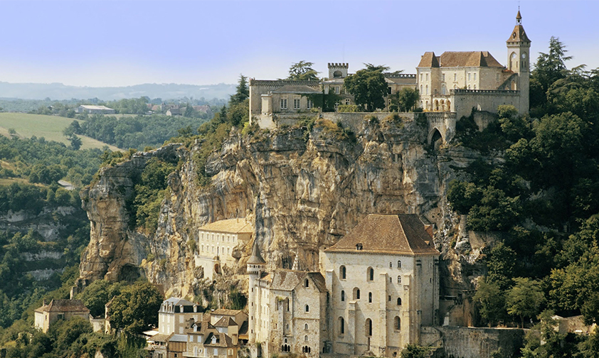 Rocamadour, un escalier vers le ciel
