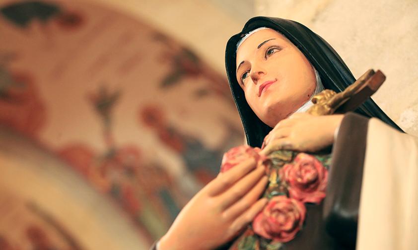 La Vierge Marie dans la vie de sainte Thérèse de l'Enfant-Jésus de la Sainte Face