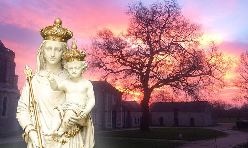 Notre Dame du Chêne, reine du silence et de la compassion